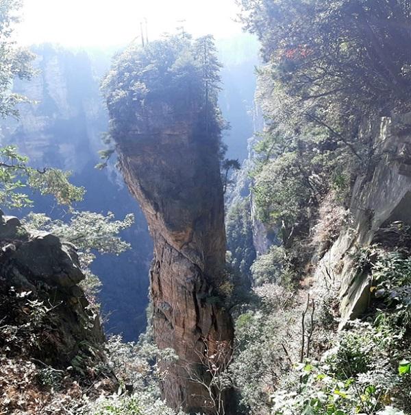 אזור הונאן בסין אתר צילום הסרט אוואטאר