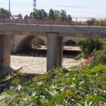 מבט על גשר הכביש מעל נחל לכיש