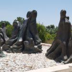 אנדרטת האישה הלוחמת בניצנים הישנה