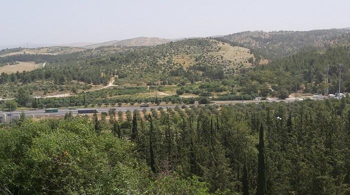 תמונות טיול בעקבות מחלקת ההר